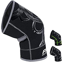 RDX Knee Support Brace is manufactured with Neoprene Material for tractability, tear and crack resistance. Offers medial-lateral support and mobility with slip-in design. It combats Arthritis symptoms as well. Aero-Therm technology provide excellent ...