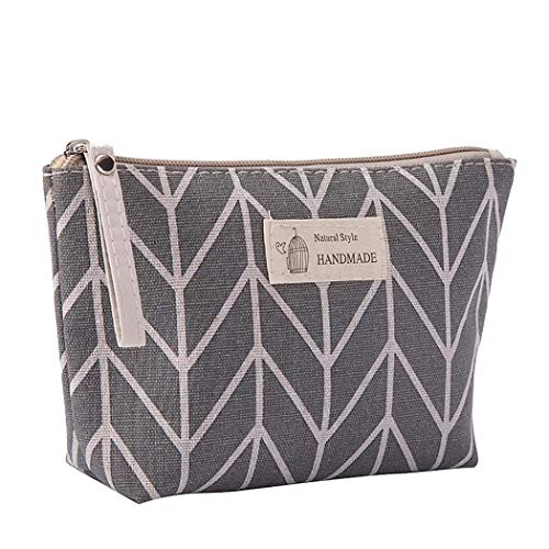 Cotton and Linen Large-Capacity Cosmetic Bag Multi-Function Travel Cosmetic Bag Home & Garden Christmas for Faclot