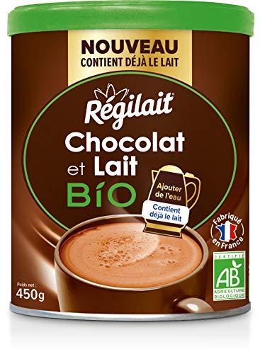 Régilait Chocolat au Lait Bio en Poudre 450 g