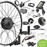"""Best Electric Bicycle Conversion Kits - EBIKELING 36V 500W 26"""" Geared Rear Waterproof Electric Review"""