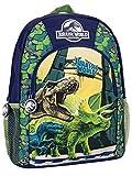 Jurassic World Enfants Sac à Dos Dinosaures Bleu