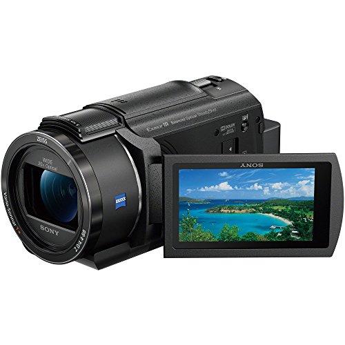 ソニー SONY ビデオカメラ FDR-AX40 4K 64GB 光学20倍 ブラック Handycam FDR-AX40 BC
