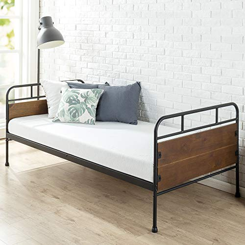 Zinus Eli Twin Daybed Frame / Premium Steel Slat Support