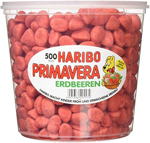 HARIBO Primavera Erdbeeren, 2er Pack (2 x 1.15 kg)