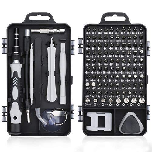 CAMORNY 115 in 1 Precisie Schroevendraaier Set Kleine Tool Kit Schroevendraaier Kit Mini Diy Hand Werk Reparatie Gereedschap voor Mobiele Telefoon Bril Horloges Multipurpose