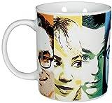 "Big Bang Theory The Kaffeetasse ""Faces"", Porzellan, 320ml – 0122072 Taza de café, Porcelana, weiß, 12 x 7.5 x 9.3000000000000007 cm"