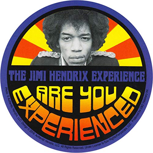 Square Deal Recordings & Supplies - Jimi Hendrix - Are You Experienced - Die Cut Sticker