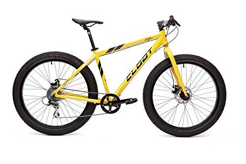 """CLOOT Fat Bike-Bicicleta Fat-Bicicleta Rueda Gorda en 27.5"""" Zeta 3.5 con Cuadro Aluminio 6061 y Cambio Shimano Acera de 8v (L)"""