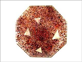 Granaat Achthoek Vastu Plaat Energie Generator Crystal Edelstenen Unieke Zeldzame Wetenschap Bouw Vedische Astrologie 40 P...