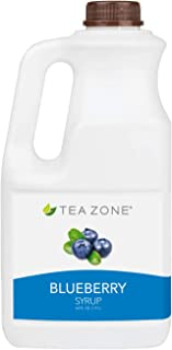 Tea Zone 64 fl.oz Blueberry Syrup
