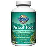 Garden of Life Whole Food Vegetable Supplement - Perfect Food Green Superfood Dietary Supplement, 300 Count