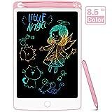 NOBES Tableta de Escritura LCD 8.5 Inch Colorida, LCD Tablero de Dibujo Gráfica Pizarra Magica de Mensaje Memo Pad Electrónico con Lápiz Regalos para Niños,Clase,Oficina,Casa,Cocina (Rosa)