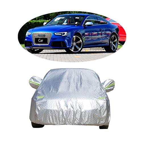 Couverture de voiture Compatible avec la couverture de voiture de sport Audi RS5 épaississant la couverture de voiture de vêtements de protection solaire de protection contre la poussière de voiture a