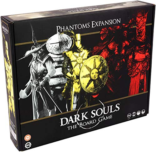 Dark Souls The Board Game - Phantom Expansion - English Edition Unisex Juego de Mesa Standard