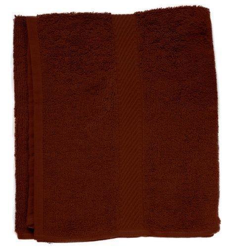 Fripac-Medis badstof handdoeken donkerbruin