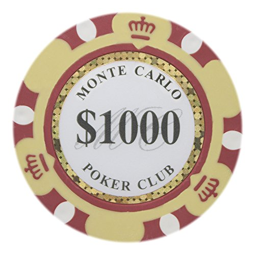 1000 14g clay poker chips - 9