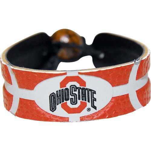 GameWear NCAA Ohio State Buckeyes Team Farbe Basketball Armband