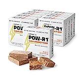ration1 POW-R1® High Energy Bar – 5 Tage Vorrat für 1 Erwachsenen – aufgeteilt auf 10 Packungen mit je 4 Energieriegeln (Insgesamt 40 Powerbar Riegel) – Vegan & Laktosefrei!