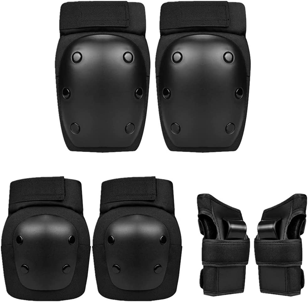 LFF MASSAGE Kids Protective Gear High order Max 50% OFF Set 6 Pads Knee Elb in Child 1