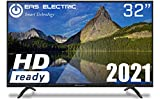 "EAS ELECTRIC | E32AN70A | Televisor Negro | Televisión 32 pulgadas | Smart TV 32"" | LED (DLED) | HD Ready 1366 x 768 16:9 | DVB-T/T2/C/S/S2 HEVC | WiFi | Android TV | Google Cast | USB 2 | HDMI 3"