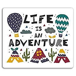 2 x 10cm Camping Quote Vinyl Stickers - Tent Life Sticker Laptop Luggage #17090 (10cm Wide)