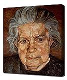 The Painter S Mother Ii 1972 - Lucian Freud - Art Leinwandbild - Kunstdrucke - Gemälde Wandbilder