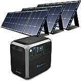 BLUETTI AC200P 2000Wh Portable Power Station Bundle with 3pcs 120W Solar Panel, 2000W Solar...