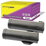 Printing Saver 2x NERO Toner compatibili per XEROX VersaLink B400, B405, B400dn, B400n, B405dn stampanti [13.900 Pagine]