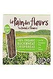 Le Pain Des Fleurs Organic Crisp Bread - Buckwheat - Case Of 6 - 4.41 Oz. 4.41 OZ