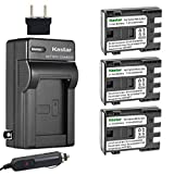 Kastar Battery (3-Pack) and Charger Kit for Canon NB-2L NB-2LH and Canon...