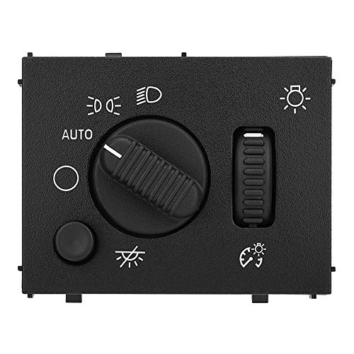 Headlight Switch for Chevy Silverado, GMC Sierra 2003 2004 2005 2006 2007 19381535 D1595G 15194803 Headlamp Dimmer Switch for Suburban Avalanche Yukon Tahoe Cadillac