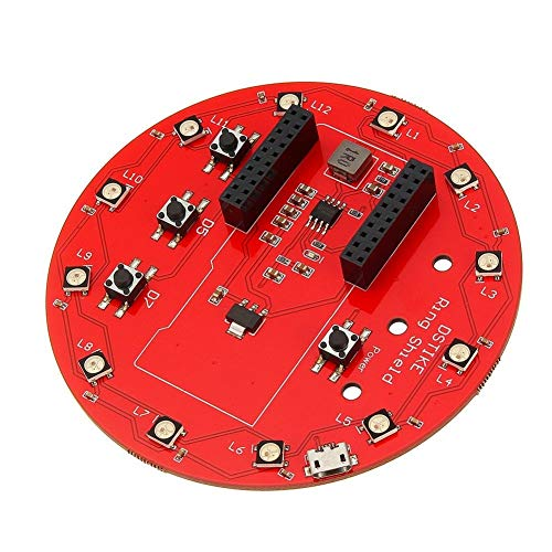 Expansion board module WS2812B Ring Shield For Arduino 18650 battery charger Li-battery charger RGB LED Expansion Board Motor driver