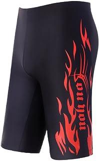 WUAMBO Swimwear Men's Swim Jammer Shorts