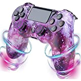 AKAKKFK Controller PS4 Game con Vibrazione Doppia Vibrazione Somatosensoriale a 6 Assi Touch Panel Audio Joystick PS4 Bluetooth Wireless Controller Gamepad per PS4/Slim/Pro