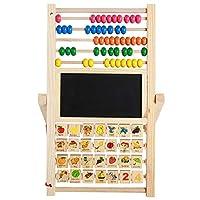 子供の玩具を数える多機能のそばの学習スタンド子供の贈り物のための早い教育数学のおもちゃ (Size : Medium)