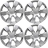Motorup America Auto Hubcap Set of 4, 16 inch Snap On Wheel Covers - Fits 07-11 Toyota Camry