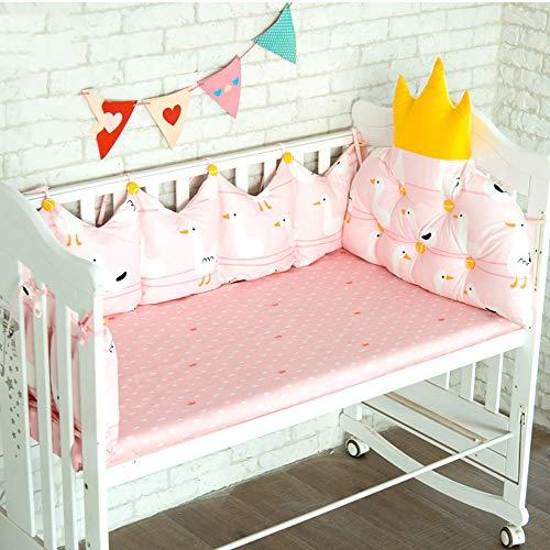 Protecteur de couverture de rail de lit de bébé rembourré, enveloppe de protection de dentition sûre pour les montants de lit de bébé