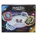Hasbro-48620 Beyblade Burst Series Elite Champions Pro Set-Juego de Batalla de Beystadium Arena, 2 giroscopios y 2 lanzadores, Color Multicolor. (F2292EU5)