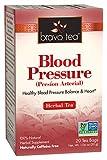 Bravo Tea Blood Pressure Herbal Tea, Caffeine Free, 20 Tea Bags (Pack of 6), 6 Count