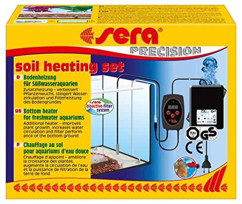 sera soil heating set computergesteuerte Bodenheizung fürs Aquarium, für einen optimalen Transport vom Pflanzendünger zu den Wurzeln der Wasserpflanzen, ideale Wirkung mit sera floreground