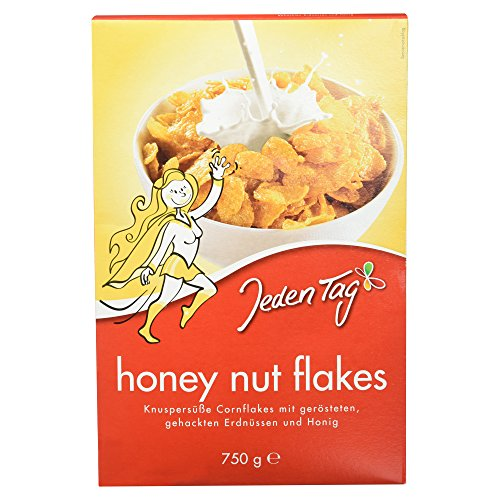 Jeden Tag Honey Nut Flakes, 750 g