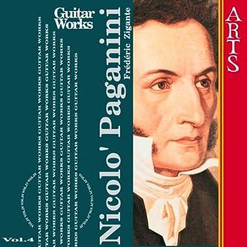 Paganini: Guitar Music Vol. 4