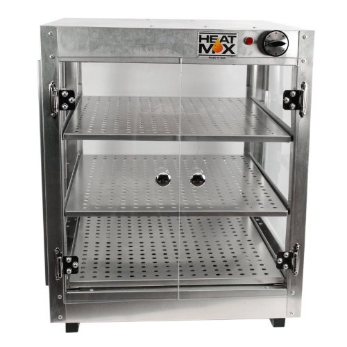 HeatMax Commercial 202024 Countertop Pizza and Food Warmer Display