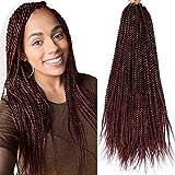14 Inch senegalese twist crochet hair 3 pack...