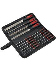 Draper 1 x 68904 16 stycken filuppsättning, röd/svart