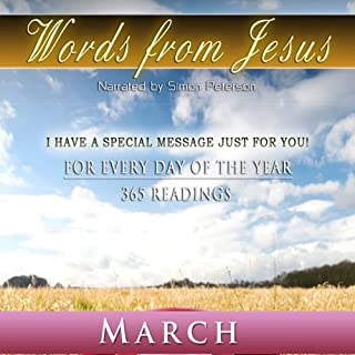 Words from Jesus: March audiobook cover art