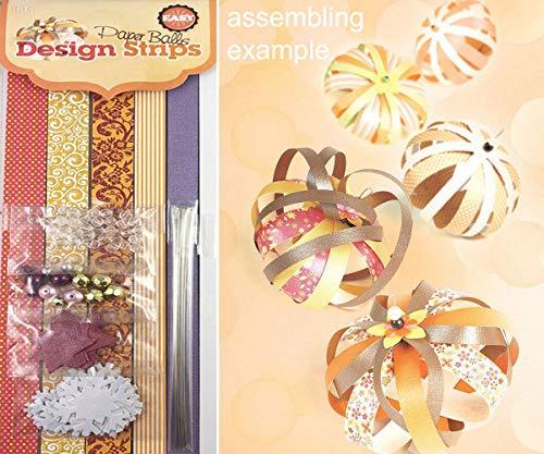 Amarillo hecho a Mano DIY Adorno del Árbol de Navidad Guirnalda Kit de Decoración para el Hogar Manualidades de Papel de Origami de Pom Poms de Bolas Para la Boda de la Fiesta de Cumpleaños Decoración