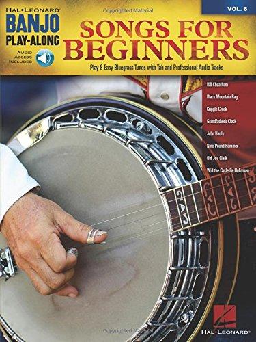 Banjo Play Along Volume 6: Songs For Beginners - Banjo Book/Cd