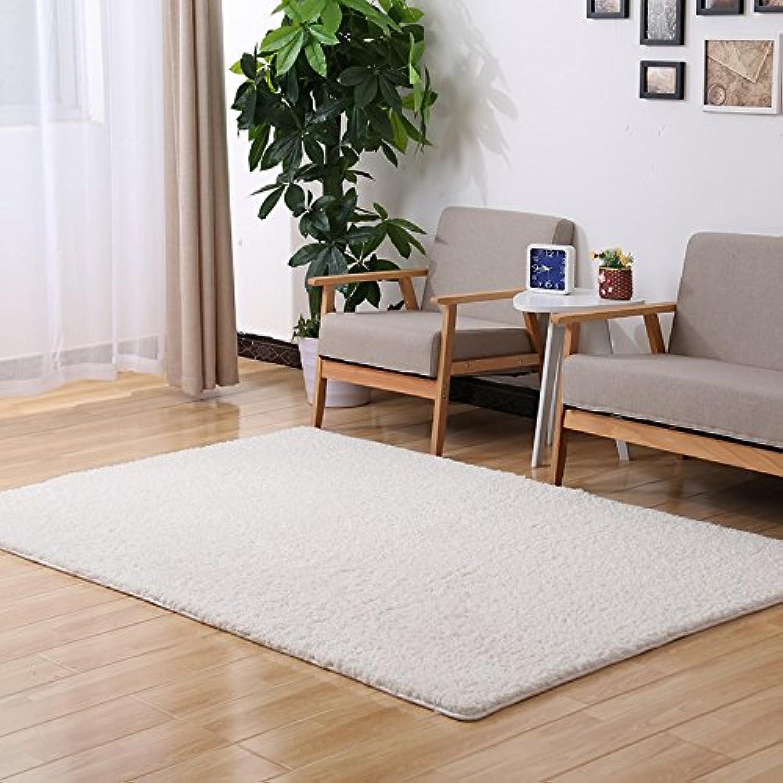 mejor vendido GRENSS Alfombras de Gran Tamaño para el el el Salón Dormitorio Microfibra Suave té CamoFleece Tapetes alfombras Dormitorio Sala Infantil Decoracion Alfombra,blancoa,1mX1.6m  descuento de ventas