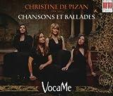 Chansons et Ballades su testi di Christine de Pizan